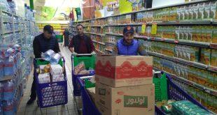 فيديو : استعدادات الإغاثة المدنية لتوزيع قفة الخير